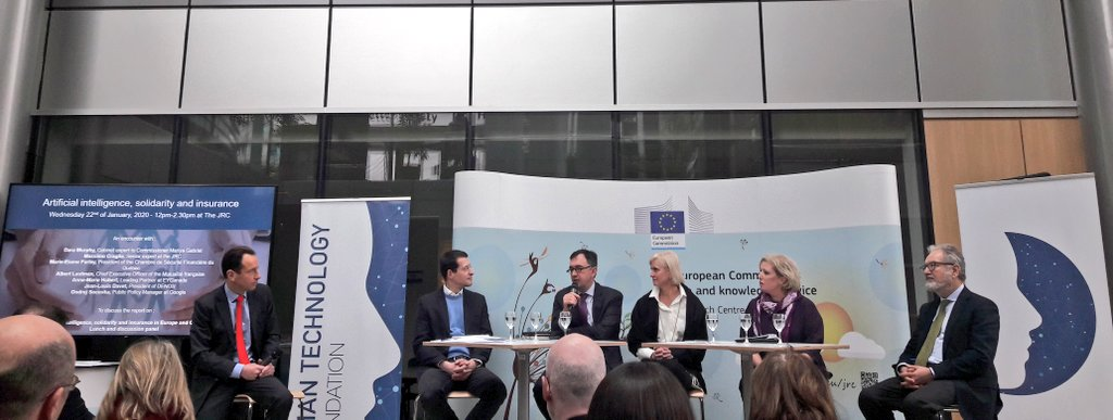 test Twitter Media - Timely discussion today at @EU_Commission on #ArtificialIntelligence, solidarity and #insurance w/ AMICE French member @mutualite_fr @AlbertLautman https://t.co/9uFKippxy5