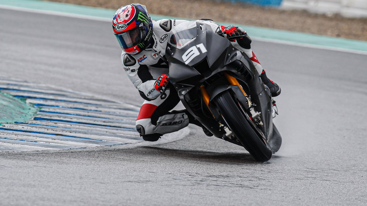 test Twitter Media - 🙌Highlights from Jerez: Honda back with a bang as unpredictability reigns over a wet day one!  📹VIDEO | #WorldSBK https://t.co/ndUpZIDnYE https://t.co/RujnXejoVL