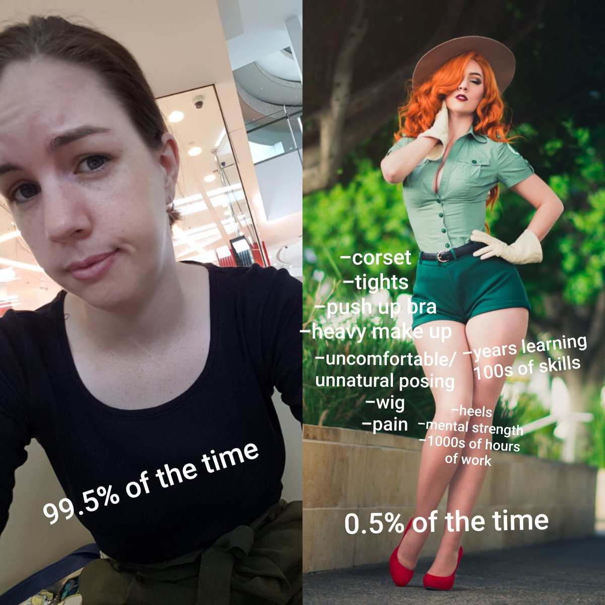 """The gross article of """"how to date a cosplayer"""" makes me want to vom.  But if there is genuinely someone who wants to date a cosplayer purely on their looks, you're in for a bad bad investment, pal.  PS. We don't cosplay for you."""