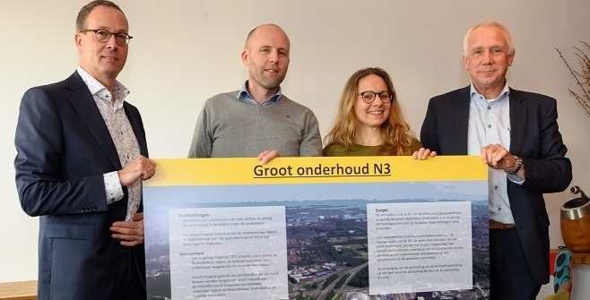 test Twitter Media - Rijkswaterstaat en Boskalis Nederland hebben de opdracht getekend voor het Groot onderhoud N3. We gaan aan de slag! #infrawerk #circulair #duurzameoplossingen #biobased #veilig #trots. Lees meer op onze website: https://t.co/m80mzkm81J https://t.co/QlKCN4R3hD