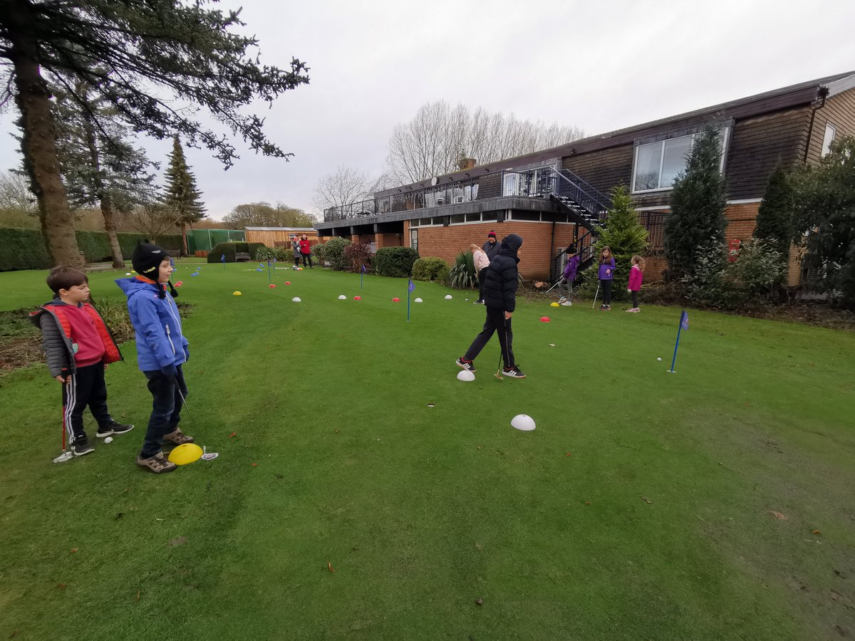 test Twitter Media - Sooooo good to have our IPGC Juniors back in action following the Christmas break. 😁🙌  Over 30 juniors... In January!  The weather hasnt stopped us having fun, taking on sloping putts ⛳ #growthegame @GolfRootsHQ @TheClub @robrockgolftour @EnglandGolf @IPGCourseupdate https://t.co/1EeKBOuAiR