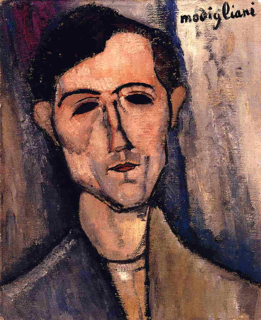 Man's Head (Portrait of a Poet), 1915 #amedeomodigliani #expressionism https://t.co/Zf6LfgXZaX