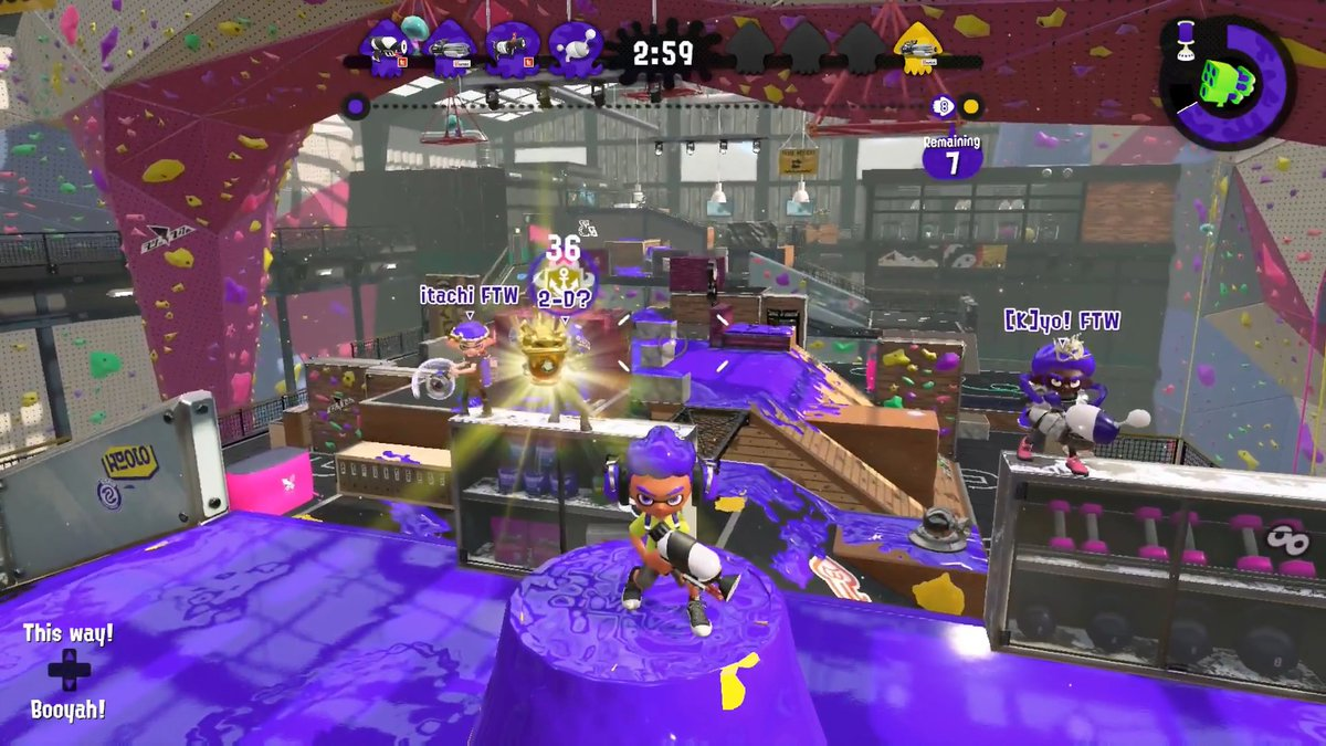 WE WON THE WINTER OPEN!  Our roster today was:  @5hak_ | Kshot/Kpro/L3 @KyochaNDxD | Slosher/Luna/BPN/Machine @toonbeoulve | Jr/Zap/KL3 @ItachiUchihaSPL | Splatling/BPN  We were lucky to have @HexenHXN coach us to win the entire event!  We hope you'll support us at G7!!!