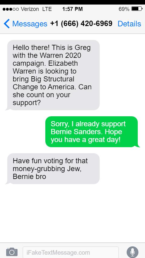 @virgiltexas @ewarren @virgiltexas CNN refuses to cover the rampant antisemitism within the Warren campaign #WarrenAntisemitism