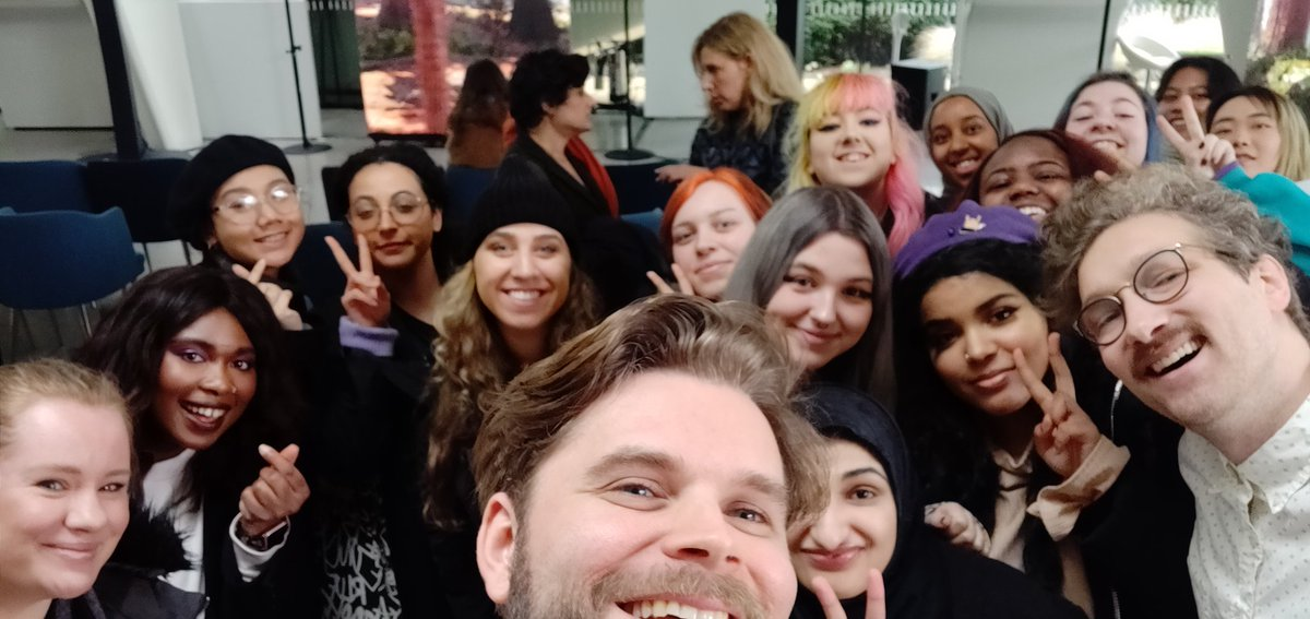 Meeting awesome @bts_bighit fans in London at @SerpentineUK