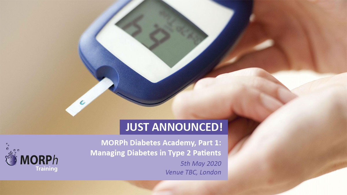 test Twitter Media - JUST ANNOUNCED - MORPh Diabetes Academy, Part 1: Managing Diabetes in Type 2 Patients study day, 5th May in London!  Book your tickets here: https://t.co/eQotJA747p  #Diabetes #Type2 #Type2Diabetes #PrimaryCare #GPPharmacists #MORPhTraining #London https://t.co/mlwRvXTGA4