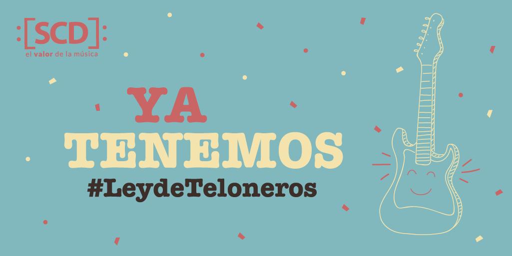 test Twitter Media - 🎶 ¡#LeydeTeloneros es aprobada por la @CamaraDiputados  y se convertirá en ley! Lee la noticia aquí 🔽 https://t.co/1sZ9XtXsRg https://t.co/fcgbH6TUKc