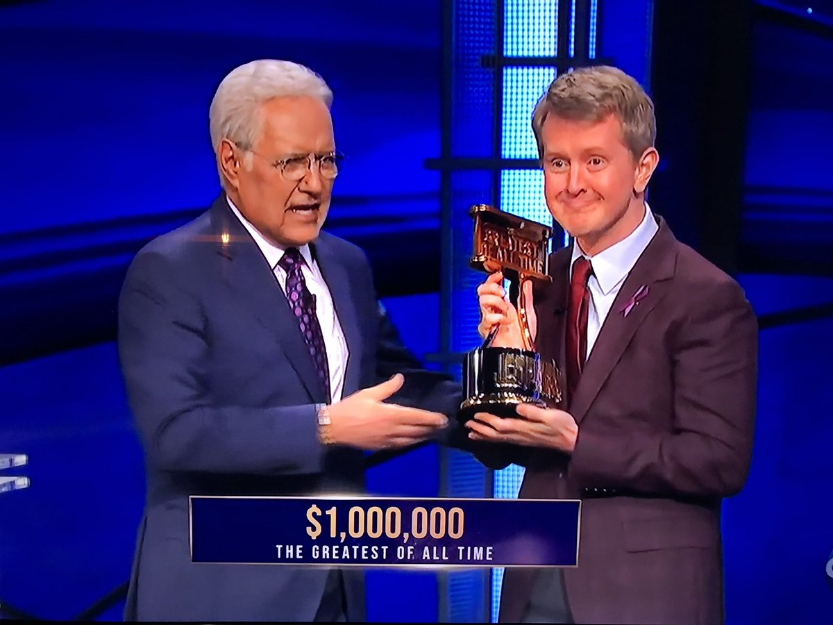 Ken is so happy this is the cutest thing I've seen all day #JeopardyGOAT