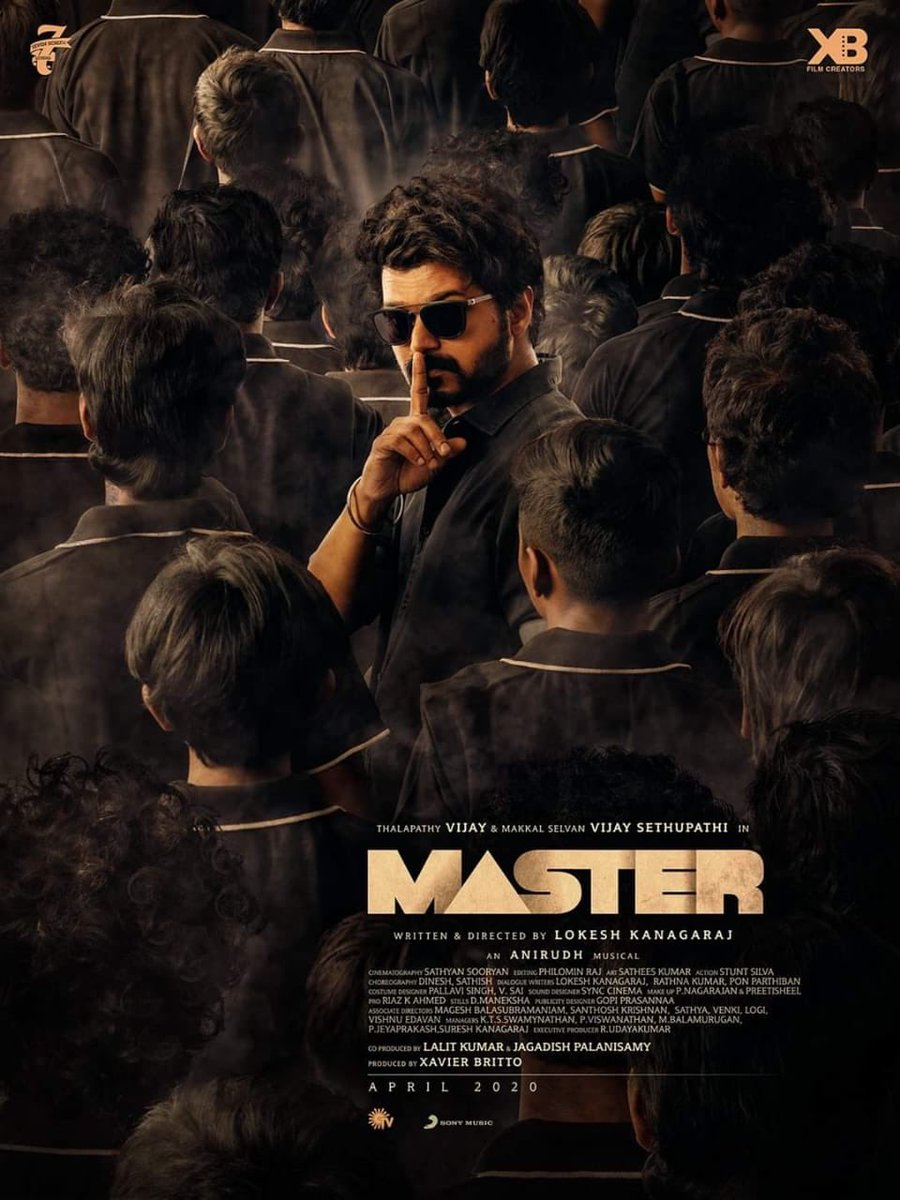 #MasterSecondLook #MasterPongal #master #masterdop master secondlook has arrived . Happy Pongal to all