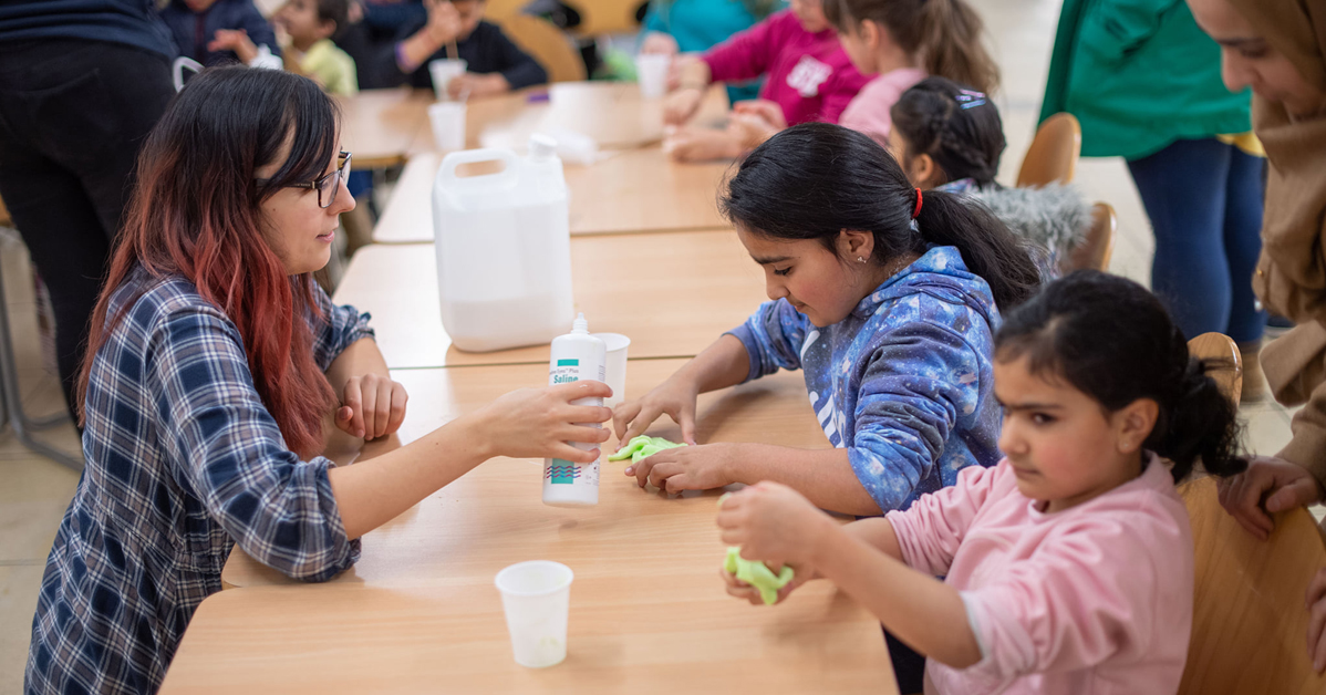 """A team from @AberdeenSci ran a programme of activities and talks to celebrate #IYPT   We applied for a small outreach grant for a project we called the """"Periodic Table of Fun"""", said Kostas Minas, community engagement.  Read more 👉"""