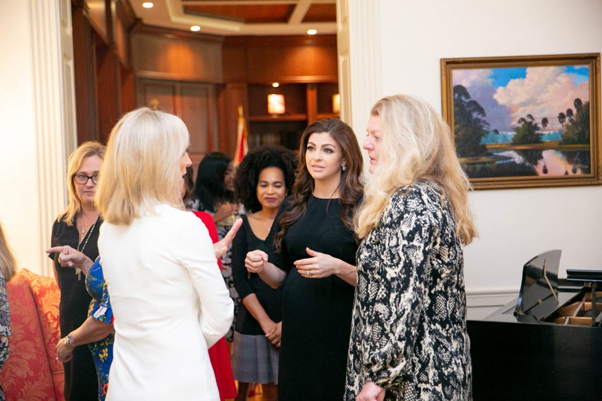 It was such a privilege to host legislative spouses today at the Governor's Mansion. As partners of those who serve in public office, we can not only provide support, but also use our voices to raise awareness and positively impact our great state.