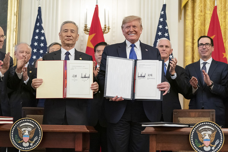 Before President @realDonaldTrump took office, Washington long tolerated unfair trade practices that helped special interests while hurting U.S. workers.  Now, Americans have a President who puts them first at the negotiating table.  Today's big news:
