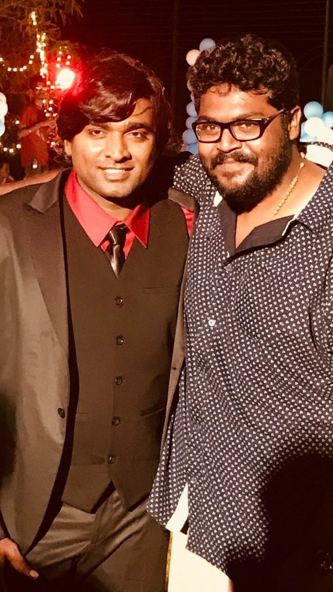 Wishing this wonderful human being and one of the most honest & caring person I ever know, a very very very very very Happy Birthday!! ❤️❤️❤️❤️❤️ Love you sir🤗🤗🤗 @VijaySethuOffl #HappyBirthdayVijaySethupathi