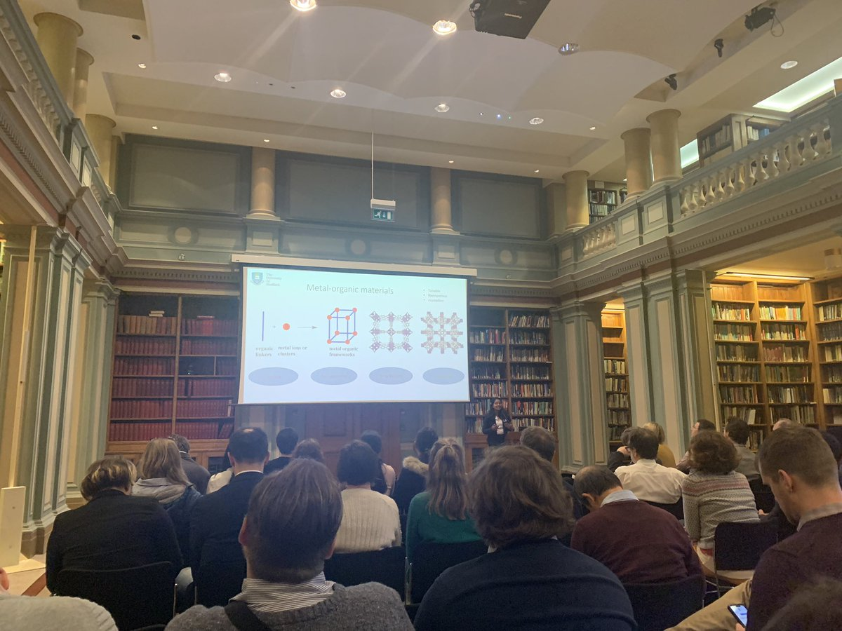 Had a great day presenting my research @RoySocChem - Next Generation Materials for Solar PV 2020.