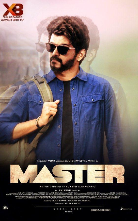 Woooooooow!!!! @actorvijay #Thalapathy64 #MasterHasArrived #Master #MasterThirdLook