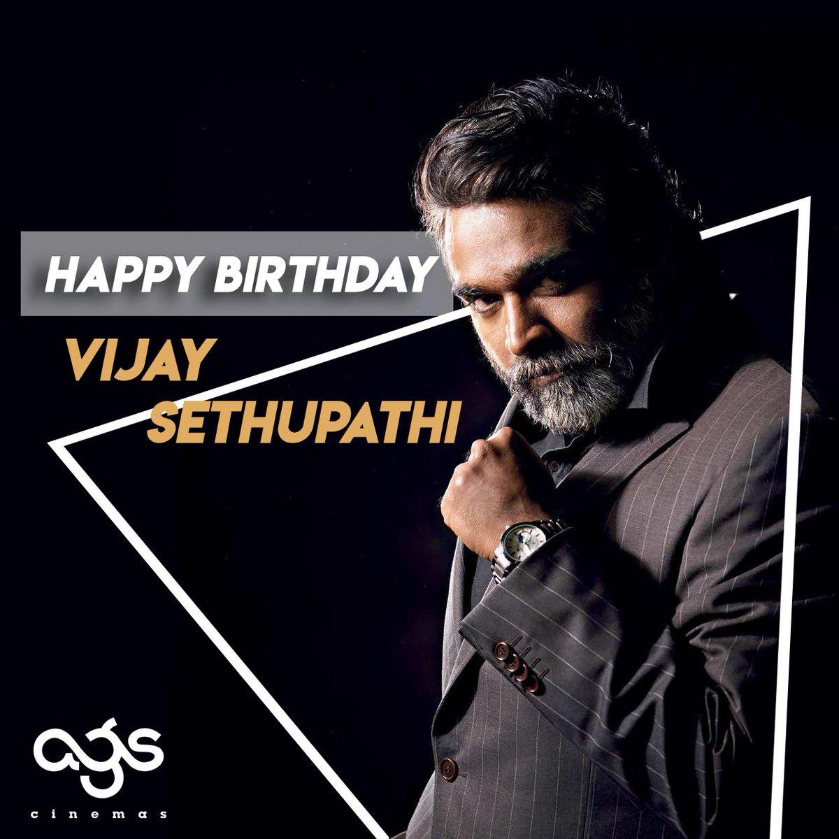 Wishing Makkal Selvan @VijaySethuOffl a very happy birthday!! #HBDVijaySethupathi