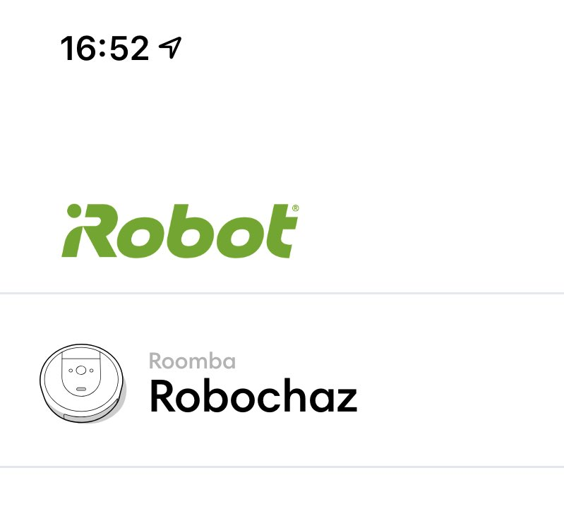 I finally allowed my husband to name a robot and he called it Robochaz.