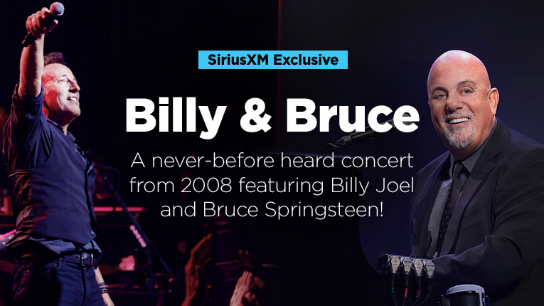 Listen to the Billy Joel Channel to hear a rare broadcast of @billyjoel and Bruce @springsteen playing their greatest hits and fan favorites! Details: