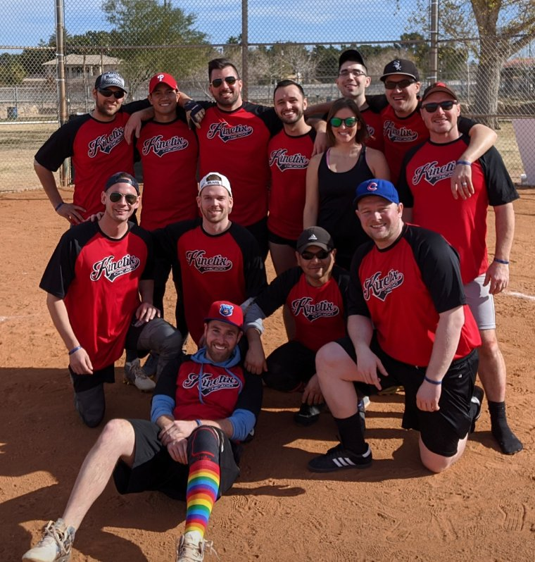 I'm having softball withdrawals already from this weekend. I'm so thankful I've got a group of friends to play an awesome game with.