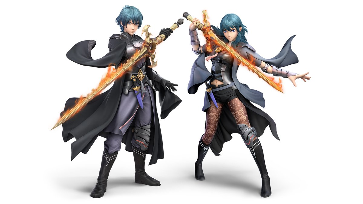 From the Garreg Mach Monastery to the battlefield, Byleth is joining #SmashBrosUltimate as DLC fighter 5!  The fighter is planned for release on 1/28. Purchase the Super Smash Bros. Ultimate Fighters Pass to obtain Byleth immediately following release!