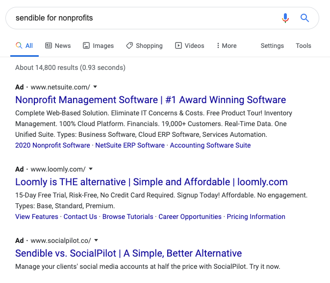test Twitter Media - Is anyone else noticing that the highest bidder on AdWords for search ranking is becoming less and less relevant to the actual search? https://t.co/9TVmS7MRjq