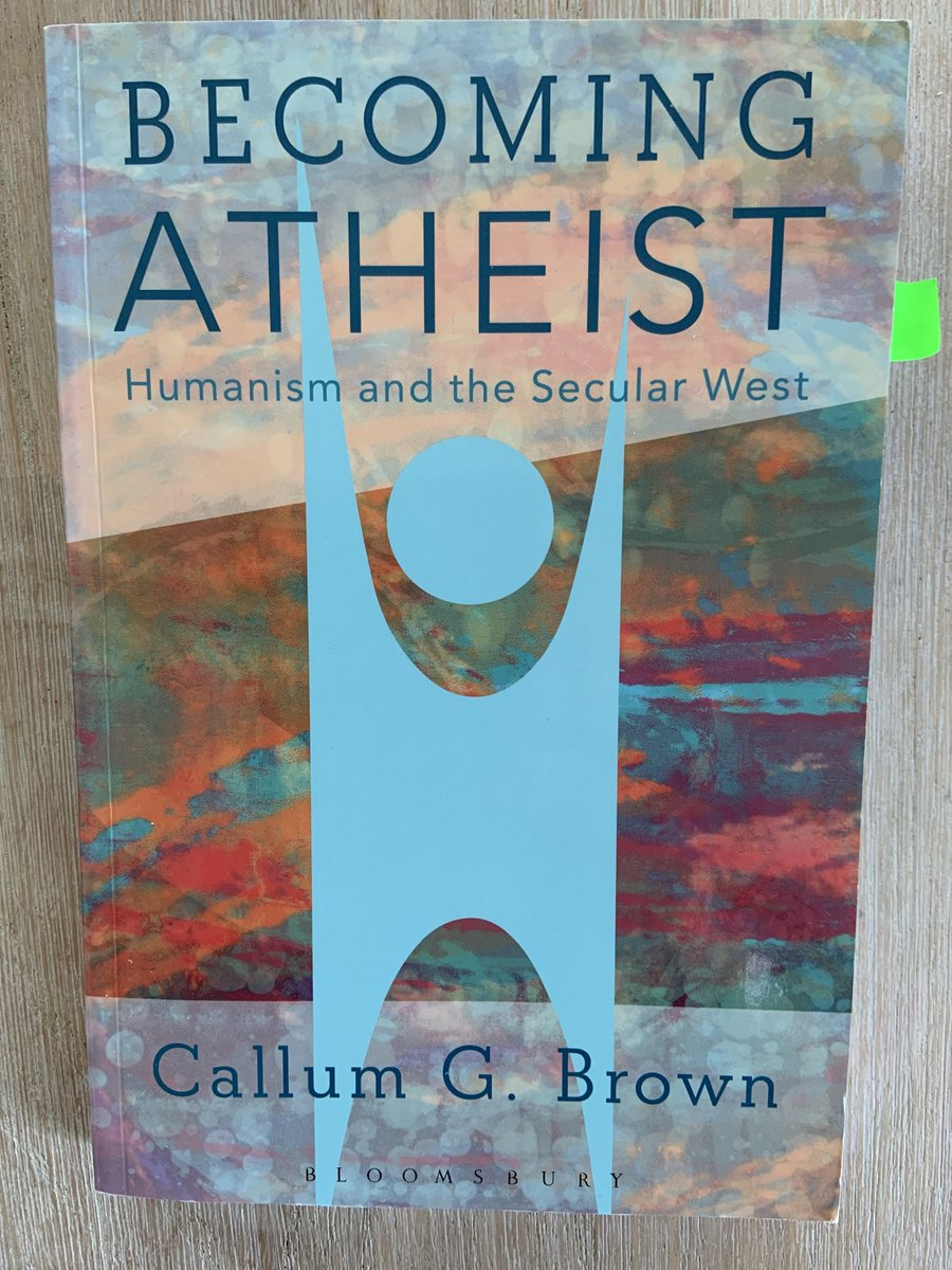 test Twitter Media - I've just started reading this latest fascinating book from Callum Brown on how in three generations churchgoing and religious belief have become utterly alien to millions in society, many losing their religion and living lives as if there is no God. https://t.co/50sRSZuReW