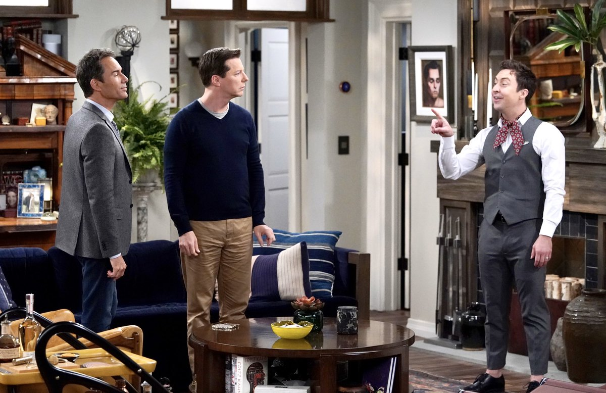 """Check out these snazzy snaps from tonight's """"Will & Grace"""" episode. 📺 #WillandGrace"""