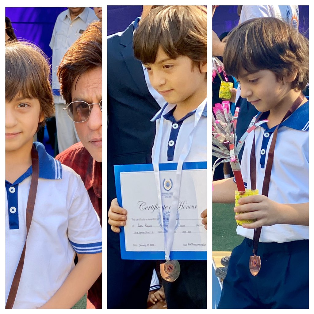 Day at the Races...My little 'Gold Medal' with his Silver and Bronze wins at the races today!!