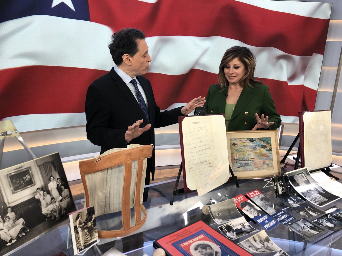 Happening now ⁦@RRAuction⁩ ⁦@MorningsMaria⁩ ⁦@FoxBusiness⁩ #JFK auction