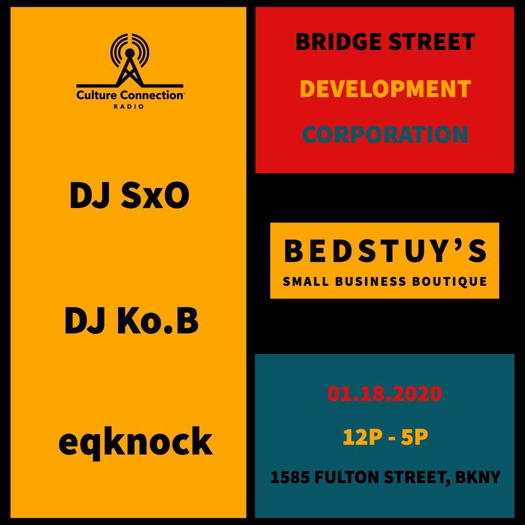 Tomorrow my crew @CCRadioNY and I will be djing for @BridgeStreetDev RSVP https://t.co/mpvOmzNJYK https://t.co/f55HJIWcTJ