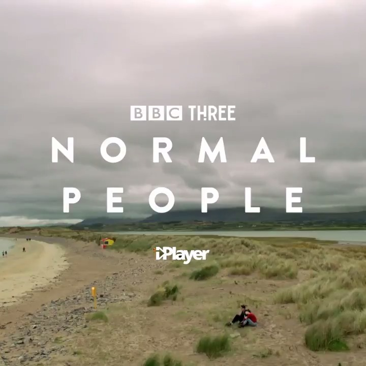 BBC Three's Normal People, Based on Sally Rooney's New York Times best selling novel, is coming soon to @BBCiPlayer.   You're about to fall in love.   #NormalPeople @NormalPeopleBBC