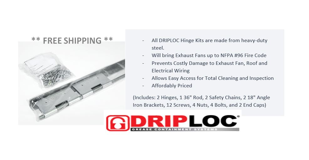 """test Twitter Media - ** DRIPLOC TYPE #2 EXHAUST FAN HINGE KIT (OFFSET FAN BASE) -40  (Includes: 2 Hinges, 1 36"""" Rod, 2 Safety Chains, 2 18"""" Angle Iron Brackets, 12 Screws, 4 Nuts, 4 Bolts, and 2 End Caps)   https://t.co/qV73aFxy6z  #Driploc #Type2 #ExhaustFan #HingeKit #OffsetFanBase #FreeShipping https://t.co/BJ9qaVchMK"""