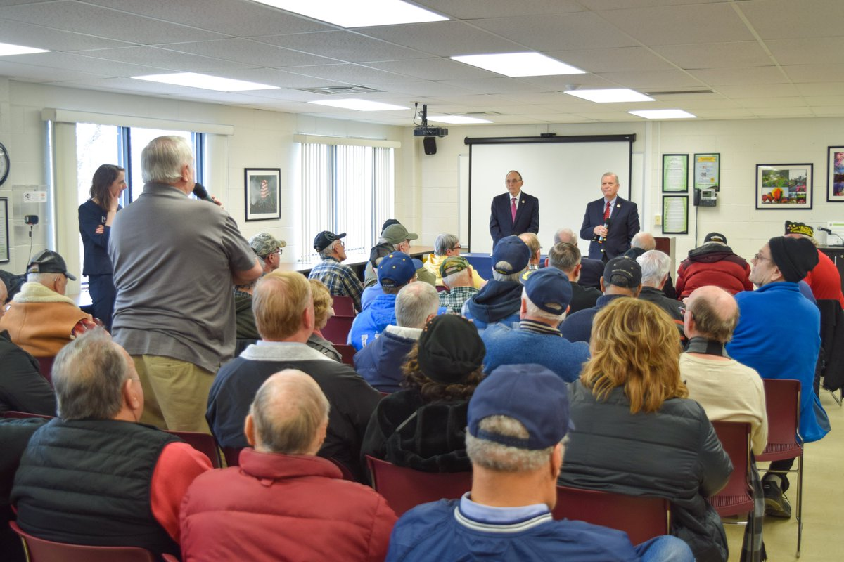 Excited to welcome my friend @DrPhilRoe to Jackson today for a town hall on veterans issues. Grateful for his leadership on @HouseVetAffairs to keep our promises to the men and women who served our country.