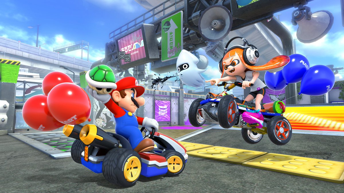 The #MarioKart 8 Deluxe North American Online Open begins in 30 minutes! Start your engines and fire up your #NintendoSwitch from 12pm - 6pm PT for a chance at the daily top 8 and 2500 My Nintendo Gold Points! 🏁  Today's tournament code: 0799-6132-1003