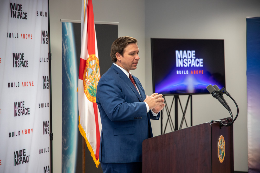 I'm proud to announce that @MadeInSpace has decided to relocate their corporate headquarters from the highly-taxed, highly-regulated state of California, to the business friendly environment of Florida.