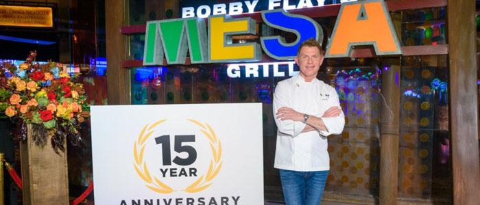 "Congrats @bflay @MesaGrillVegas  ""Mesa Grill Celebrates 15th Anniversary""    #Vegas"