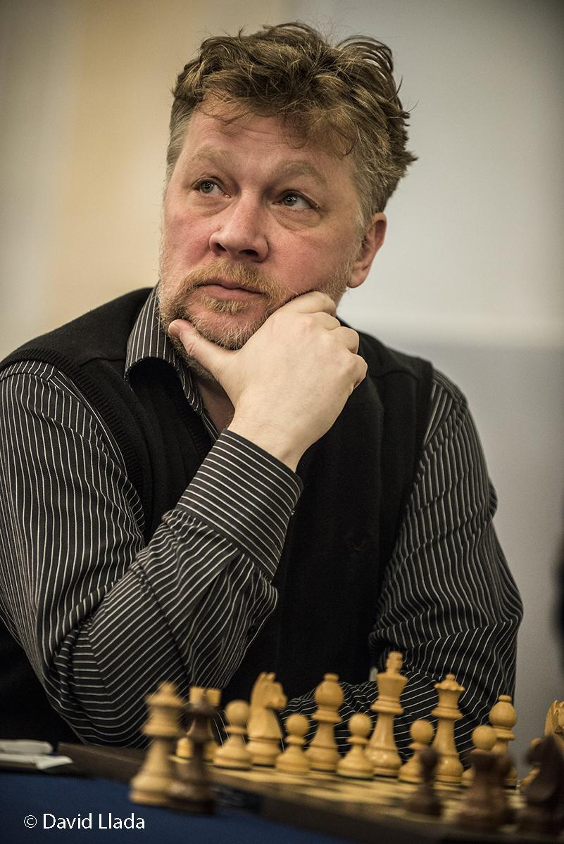test Twitter Media - Happy Birthday to grandmaster Alexander Khalifman! 🎉  Most known for his knockout victory in Las Vegas that made him the world champion in 1999, nowadays Khalifman is not that active as a player, but is a world-class trainer and second.  📷 by David Llada #HBD #OnThisDay #chess https://t.co/QslBz3a7pi