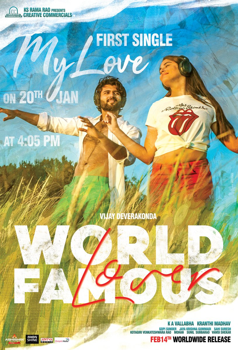 1st Song - #MyLove Coming up :) #WorldFamousLover