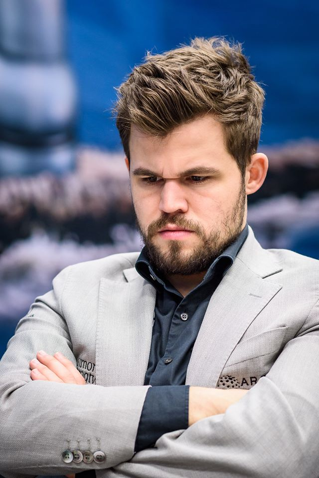 test Twitter Media - It's Anand vs Carlsen at @tatasteelchess today. Both have a slow start, 3/6.   At Tata Steel 2019, Carlsen won with White. Any predictions this time?   📷 by Alina l'Ami #TataSteelChess #Anand #Carlsen https://t.co/16FiPmy5NT