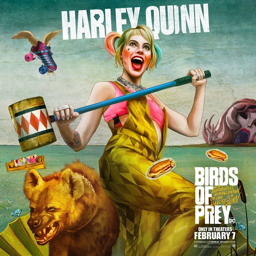 test Twitter Media - Meet a new #HarleyQuinn and the characters of #BirdsOfPrey - in D-BOX February 7.  //  Découvrez une nouvelle #HarleyQuinn et tous les personnages de #BirdsOfPrey - en D-BOX le 7 février. https://t.co/M27tJk09HT