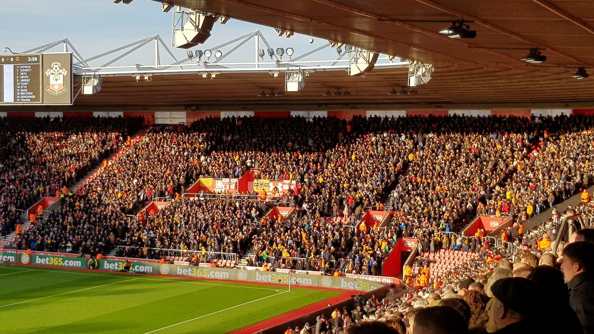 Southampton away 🐺 #wwfc #wolves #awaydays https://t.co/4Wgsm87KxU