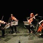 El cuarteto Ponchelina en el Centro Cultural San Juan Bautista 🎶 https://t.co/Pqp4fEQy61