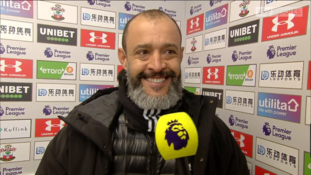 """🗣️  Nuno when asked if Wolves are close to any signings  """"Yes, yes, yes. We are working on it.""""   Big grin on the boss' face!  #WWFC #TalkingWolves https://t.co/zBZmrnQC9S"""