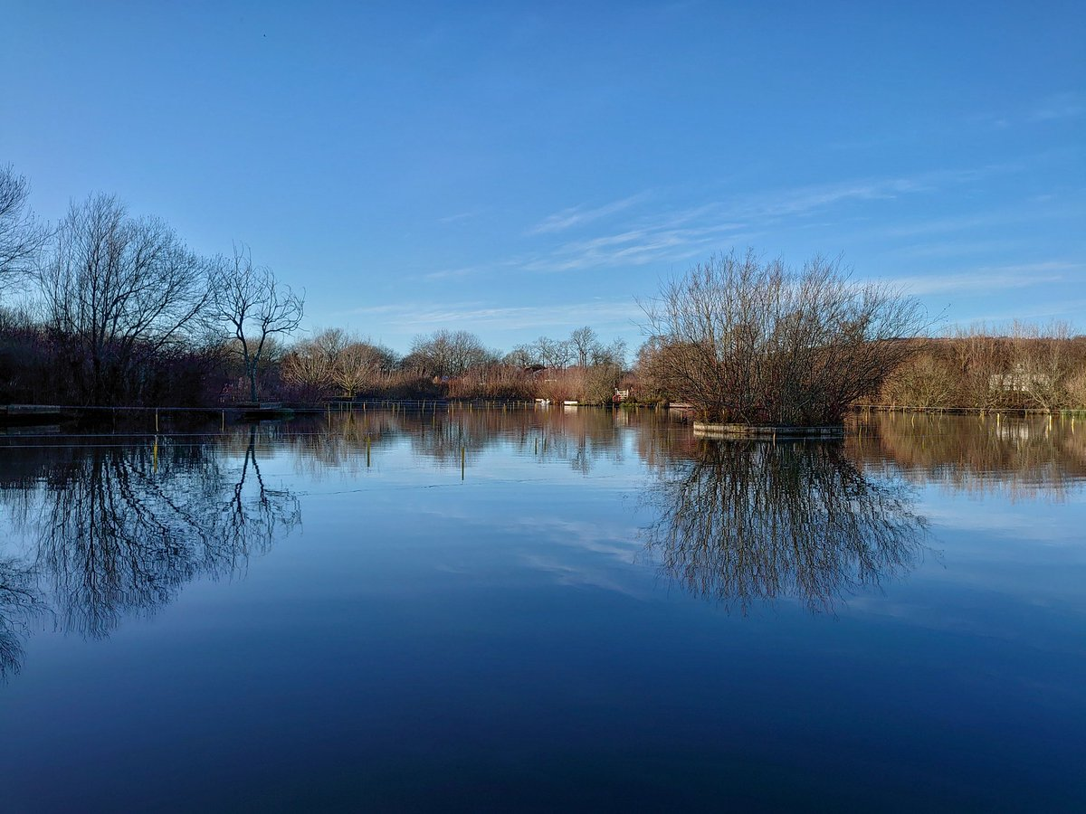 test Twitter Media - Low winter sunshine creates perfect reflections on Filham Lake.  #Ivybridge #Reflections #Lake #Sun #Photography https://t.co/enmuxE6YMe