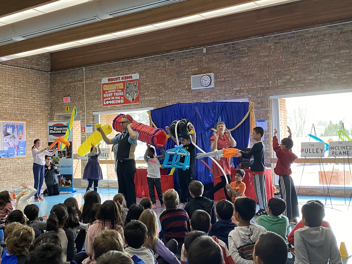 test Twitter Media - A fun assembly with @BigBalloonShow! We enjoyed learning about how machines work. #d30learns https://t.co/KCJUMfbAeN
