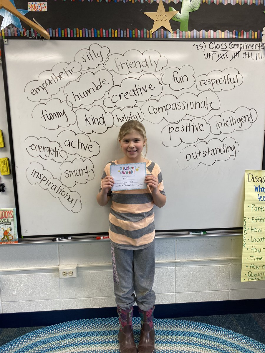 test Twitter Media - Elin was our 🤩 student this week! We brainstormed all of her best qualities to celebrate. #d30learns https://t.co/oMCoFXOVm4