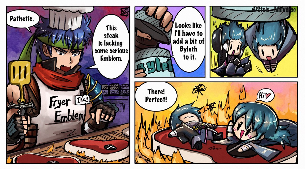 ~Smash Bros. Ultimate Grill~ #SmashBros #SmashBrosUltimate #FireEmblem