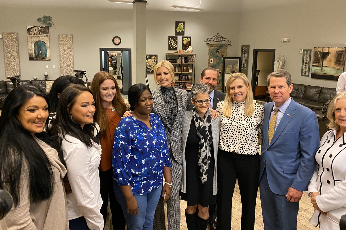 This week, I visited 2 safehavens for survivors of human trafficking in Atlanta, GA. I learned much from the brave survivors I met about the horrors of human trafficking and the journey to recovery.  This month, I will host a Summit at the @WhiteHouse focused on ending this evil!