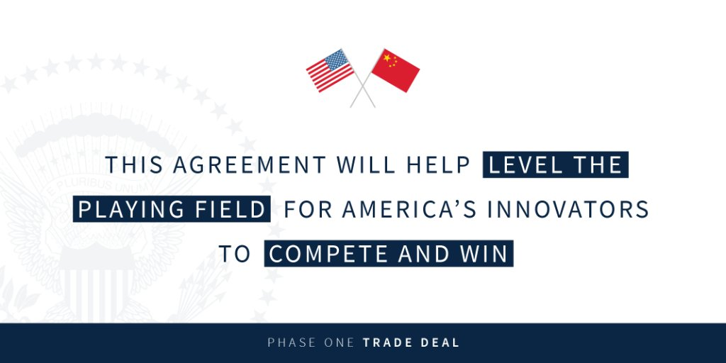 How the new agreement with China puts Americans first: