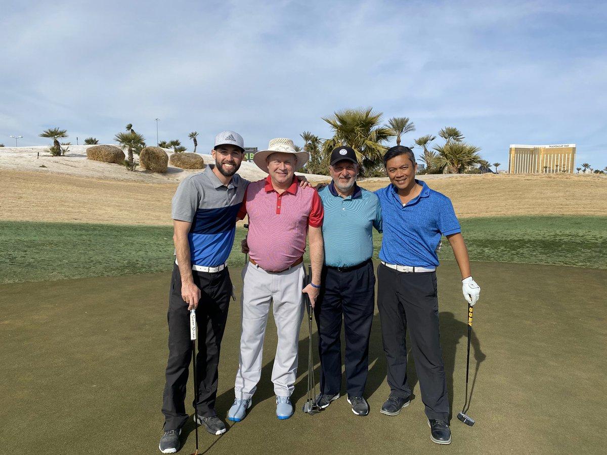 Good luck today fellas! @DSGADallas #SinCityClassic #Golf